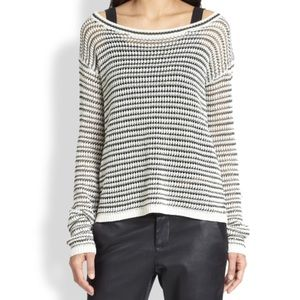 🌟SALE🌟 alice + olivia Ethan Stripe Sweater
